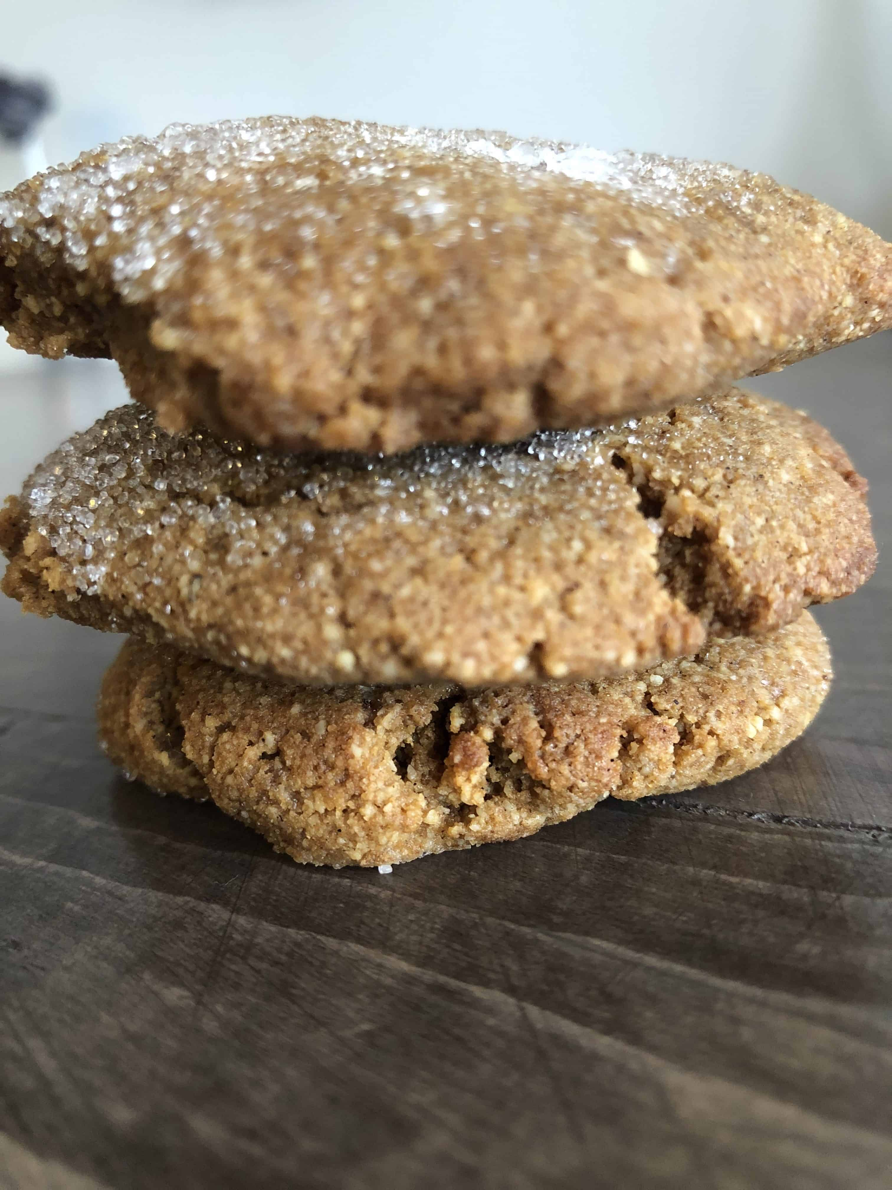 Chewy Ginger Molasses Keto