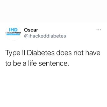 Type 2 Diabetes Doesn't need to be a life sentence