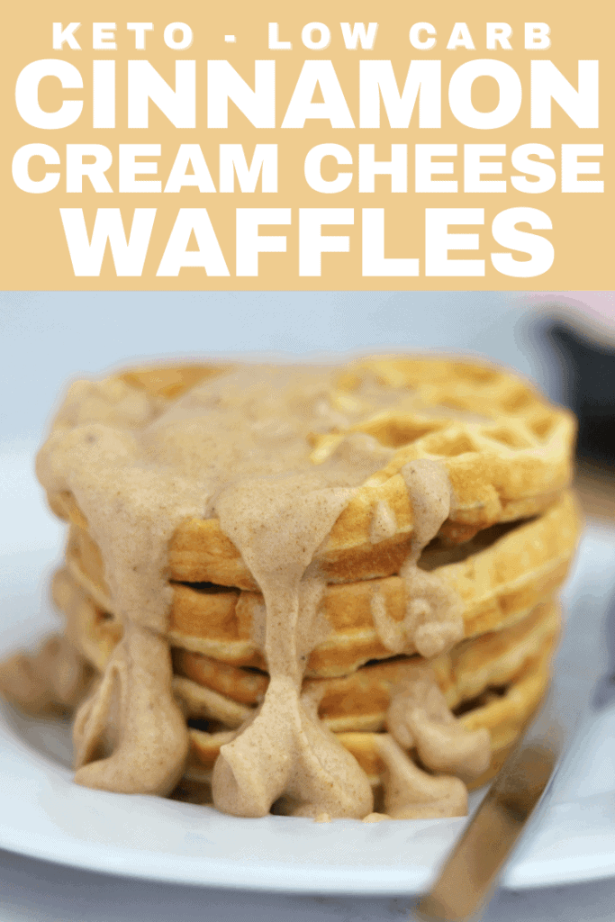 Sinful Cinnamon Keto Waffles