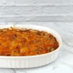 Cheesy Chicken Fajita Casserole