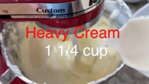 Adding Cream