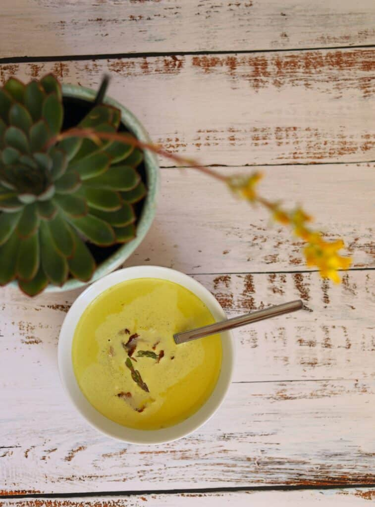 Ginger Asparagus Soup