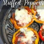 Air Fryer Low Carb Stuffed Peppers