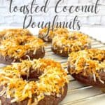 Low Carb Toasted Coconut Donut Pin
