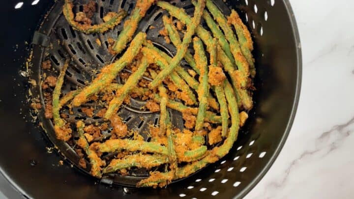 green beans in air fryer