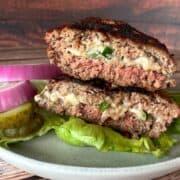 low carb jalapeno burger