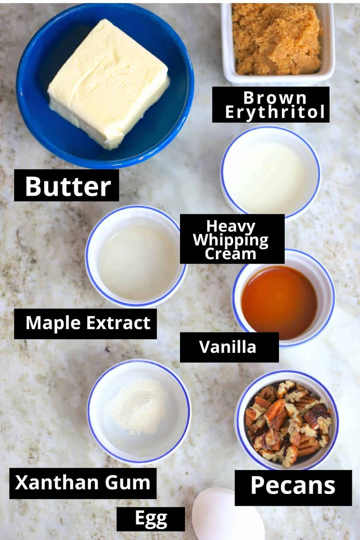 Butter tart filling ingredients