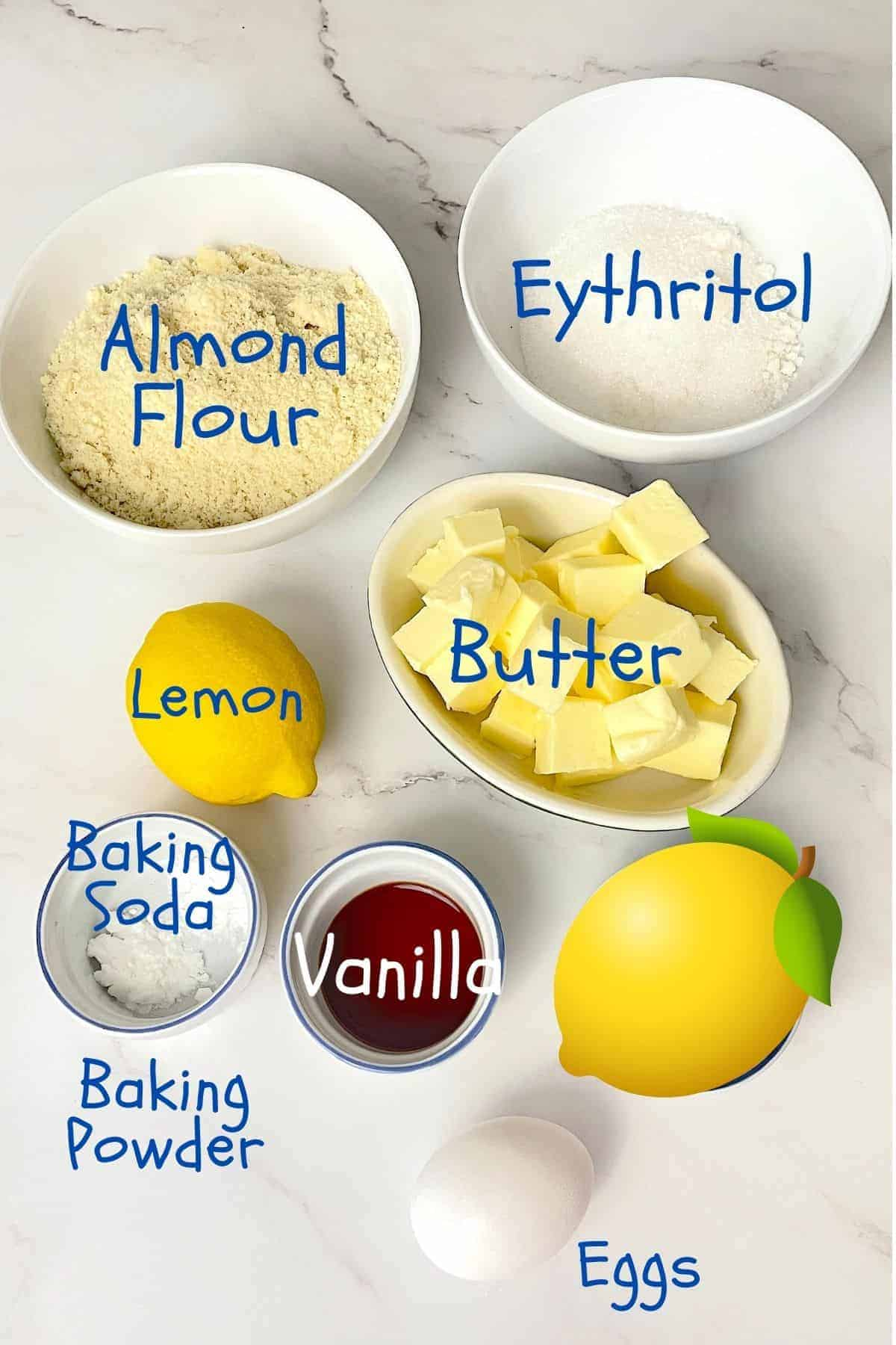 ingredients used for the recipe